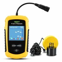 Digital Fish Finders with Alarm LCD 100M Depth Portable Battery Fishing Supplies