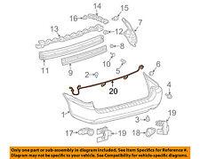 TOYOTA OEM 04-10 Sienna Rear Bumper-Wire Harness 82163AE020