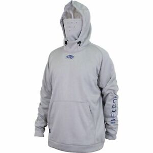 AFTCO REAPER TECHICAL HOODY COLOR: GREY HEATHER (PICK SIZE)