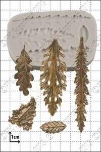 Silicone mould Decorative Leaves | Food Use FPC Sugarcraft FREE UK shipping!
