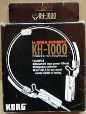Korg Kh-1000 Stereo Headphones