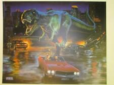 Sega Jurassic Park Lost World Pinball Arcade Translite. Free Shipping!!
