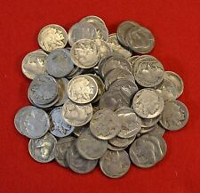 1925-P BUFFALO NICKELS MOST PART DATE COINS ONE ROLL/40 COINS CHECK OUT STORE