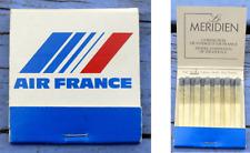 Pochette d'allumettes complète Air France Hôtel Le Méridien, années 1980