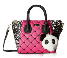 Luv By Betsey Johnson Small Panda Gigi Crossbody Messenger Shoulder Bag Satchel