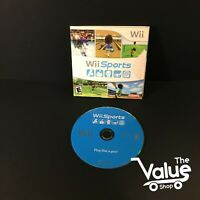 Wii Sports (Wii, 2006) - Disk & Sleeve