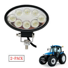 Oval 12V Tractor Pod Lamp Floodlight Beam Offroad Flood Work Driving Fog Light
