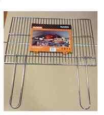 Sunday Grill 4012064 Griglia cromata -manici Pieghevoli- Barbecue muratura 60x40