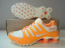 (580574 800) Nike Shox NZ NS citrus/grey/sail sz 8 Womens $130