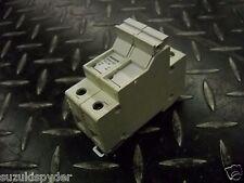 Siemens 3NW7-021 2 Pole Fuse Holder 10X38 Circuit Breaker