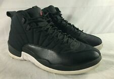 Nike Air Jordan 12 Retro Nylon Neoprene Black - Men's Size 12 - 130690 004