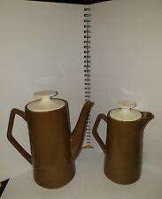 VINTAGE BESWICK COFFEE POT & WATER JUG Brown