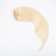 3/4 Half Wig 100% Indian Remy Human Hair Half Wig Silky Straight Hair Weft Cap