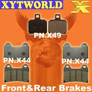FRONT REAR Brake Pads for DUCATI ST2 944 cc 1997 1998 1999