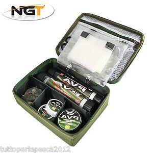 NGT Pva Rig Storage Bag Borsa Porta PVA Tackle Carpfishing Carp Boilies A0568