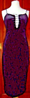 Gothic black velvet dress with front lacing. Size 14 (more a 12) see description