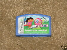 VGC Leapster Nick Jr Dora the Explorer Pinata Party learning game cartridge
