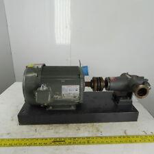 New listing Tramco Viking  Pump HL4195 10 Hp Gear Pump 0-30GPM 250PSI 208-230/460 3Ph