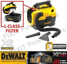 DEWALT DCV584L Class Cordless WET/DRY Dust Extractor FLEXVOLT 14.4/18V/54V NEW