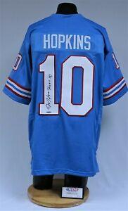 DeAndre Hopkins Signed Houston Oilers Football Jersey Tristar 7590879 Cardinals
