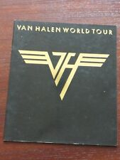 VAN HALEN 1979 WORLD VACATION TOUR CONCERT PROGRAM BOOK