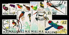 MALAWI SG310-323, COMPLETE SET, FINE USED, CDS. Cat £90.