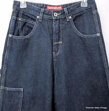 UNIONBAY Size 7 Womens Pants Denim Blue Original Carpenter Jeans 28X30.5