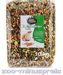 Zwergkaninchen Futter LAND PARTIE 10 kg , Fachhandelsmarke