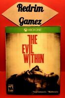 The Evil Within w/Hologram Slipcover XBOX ONE Video Games