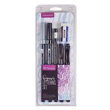 Tombow main lettrage stylos - pour débutants Set - Brosse calligraphie (ls-beg)