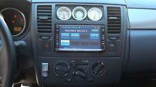 2007-11 Nissan Versa Brackets Car Radio Stereo Install Double Din Mount Dash Kit