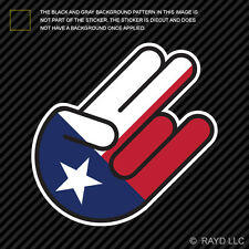 Texas Shocker Sticker Decal Self Adhesive Vinyl jdm euro lone star secede