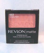 Revlon Blush Matte Powder Blush Compact - Perfectly Peach 003