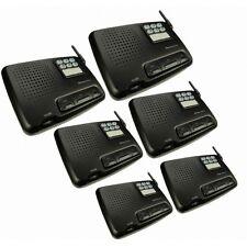6 Channel WORLDWIDE VOLTAGE Digital Wireless Office Home Garden Intercom Set