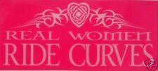 Girls Pink/Celtic/Tribal Bike/Biker Slogan Sticker