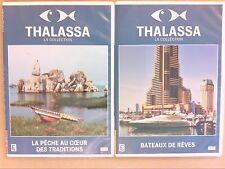 LOT 2 DVD THALASSA / BATEAUX DE REVES + LA PECHE AU COEUR DES TRADITIONS / TBE