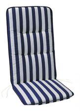 """Polsterauflage Sesselauflage Vlieswendeauflage """"Rittersporn"""" für Hochlehner 6cm,"""