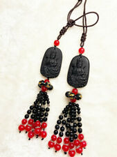 Guanyin Black Obside Lucky Car Pendant
