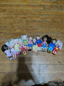 Vintage 1994 Kelly and friends doll lot of 11