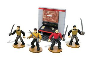 Star Trek Playset Day of The Where 4 Characters 97 Pieces MEGA BLOKS Buildings