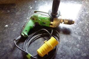 Hitachi D13VF 110v Power Drill DIY Power Tool