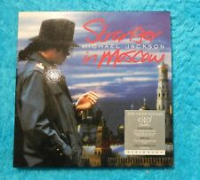 "Michael Jackson Dual Disc "" Stranger in Moscow "" Visionary CD DVD Video Single"
