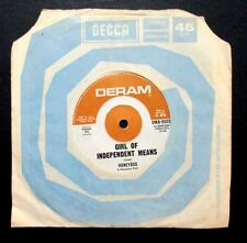 HONEYBUS - GIRL OF INDEPENDENT MEANS / HOW LONG - ULTRA RARE 7''-OZ 1968 SINGLE