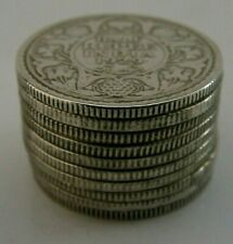 NOVELTY INDIAN SOLID SILVER PILE of COINS PILL STASH BOX ANTIQUE c1930