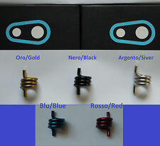 Crank Brothers - Molla x Egg Beater/Candy/Mallet Argento, Oro, Nero, Rosso, Blu