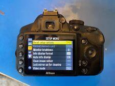 Nikon  D3200 24.2MP Digital SLR Camera - Black (Body Only)