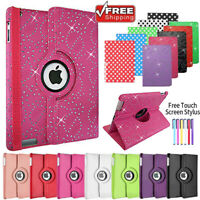 For iPad 234 Mini 4 Air Smart Stand Leather Magnetic Case Cover With Sleep Wake