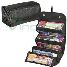 Borsa organizer viaggio ROLL N GO Nera beauty case porta trucco make up trucchi