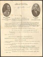 PARIS SEBASTOPOL COURRIER CORSETS & CEINTURES GLASER SIGNATURE 1948