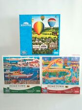 Hometown Collection Puzzle Dragon Dance -Morning Flight -Fisherman's Wharf 1000